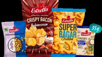 Estrellas första snacksnyheter 2020 lanseras vecka 4 i butik