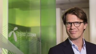 Mats Lundquist, CEO at Telenor Connexion.