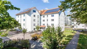 Smarta hus på Bolmensgatan i Halmstad
