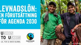 Många människor saknar i dag en inkomst som går att leva på, något som Fairtrade arbetar för att förverkliga. Foto: Fairtrade.