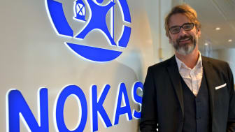 Johan Rydell, Key Account Manager på Nokas Security.