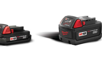Milwaukee RED LITHIUM-ION M12 & M18 batterier