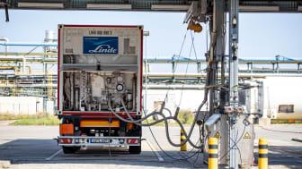 Pressereise Bitterfeld-Leuna / Wasserstofftransporter
