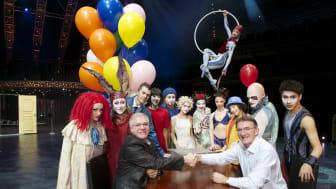 DHL bliver logistikpartner for Cirque du Soleil