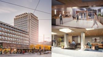 Ö Indekshuset legges til byggets 2. etasje og vil bestå av totalt 10 kontorer i størrelse fra 3-16 ansatte, med direkte adkomst fra det nye inngangspartiet i Indekshuset.