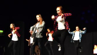 Fullsatta dansuppvisningar i Osby