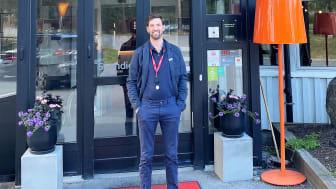 Magnus Draheim är ny hotelldirektör på Scandic Östersund Syd