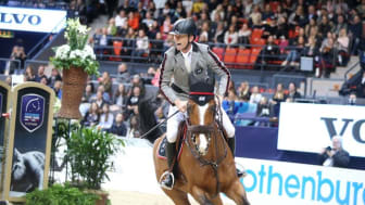 Peder Fredricson på Hansson WL vid Gothenburg Horse Show tidigare i år. Foto: Roland Thunholm