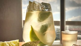 The Caprioska is a classic, refreshing cocktail made with vodka and lime