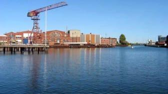 Södra Varvsbassängen i Malmö  grundas upp bland annat för att öka vattensäkerheten i området.