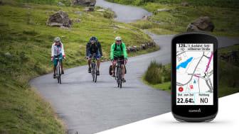 Mit dem Update bieten die Edge-GPS-Radcomputer verbesserte Karten und eine noch schnellere Routenberechnung.