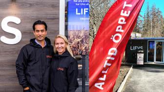 Nytänkande matkedjan Lifvs får innovativ säkerhetspaketering av SafeTeam och Telcred