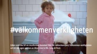 """Live is life – succé för Riksbyggens kampanj """"Välkommen verkligheten"""""""