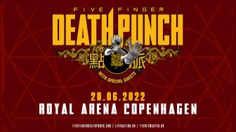Five Finger Death Punch til Royal Arena 28. juni 2022