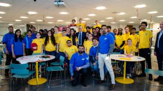 Ungdomar presenterade sina digitala lösningar på samhällsproblem