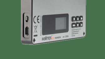 Walimex pro Rainbow Pocket RGBWW 23036 09 Bedienelemente