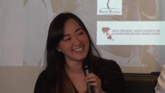Mashable's Asia Editor Victoria Ho was one of the speakers