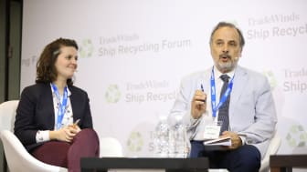 SRF17 Francesca Carlsson, NGO Shipbreaking Platform & Dr Nikos Mikelis