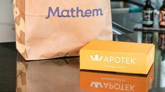 Nu lanserar Kronans Apotek och Mathem ny gemensam tjänst. Foto: Hanna Olsson