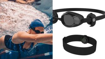 Polar OH1 -sykesensoria pidetään joko kyynär- tai olkavarressa. Uidessa sensorin saa kiinnitettyä uimalaseihin, jolloin sykkeenmittaus tapahtuu ohimolta.