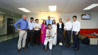 The Norwegian Embassy visiting Trainor Vietnam Office in Vung Tau.
