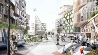Samarbetsavtal för Landvetter Södra etapp ett godkänd av kommunstyrelsen i Härryda kommun