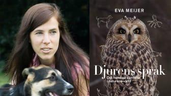 Hyllad bok om djurs kommunikation – möt författaren på bokmässan