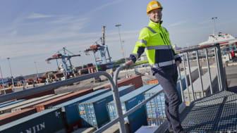 Vi har arbetat hårt under flera år för att förbättra vår flexibilitet och service på järnvägen, säger Magnus Lundberg, Kommersiellt ansvarig på APM Terminals Gothenburg