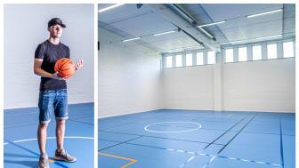 Yrkesgymnasiet i Örebro har tidigare hyrt in sig i externa idrottslokaler - nu har skolan fått en egen idrottshall, något som underlättar för hela verksamheten.