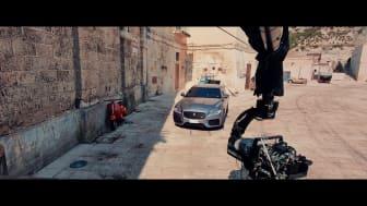 Jaguar XF gjør sin debut i James Bond - No Time To Die