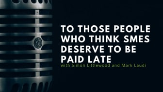 To those people who think SMEs deserve to be paid late