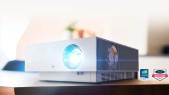 LG lanserar trio med 4K-projektorer för underhållning och arbete