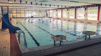 25-metersbassängen i Askims simhall stänger 30 september för rörbyte