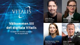 Välkomna till Nordens ledande mötesplats för eHälsa 25 – 26 augusti