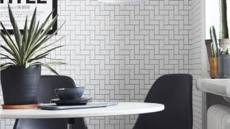 Ny svartvit tapetkollektion från Eco Wallpaper sätter färg på personligheten