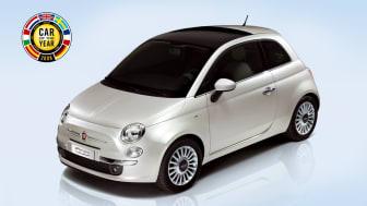 Fiat 500 utsedd till Årets Bil 2008!