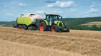 CLAAS nya traktor ARION 660 premiärvisas på Milamässan i Malmö. Foto: CLAAS