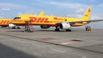 Den dedikerade Boeing 757-200 som flög Eliska till Tanzania