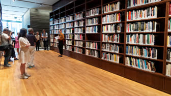 Åpning av Biblioteket Foto Børre Høstland_Nasjonalmuseet 30.08.21-14