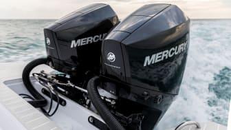 Der kommer fremover Mercury motorer på Nordkapp og Sting både.