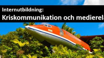 Kriskommunikation och medierelationer, internutbildning för styrelser, företag och organisationer