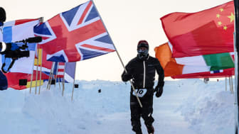 Environmental chamber helps towards North Pole marathon success