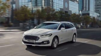 Optimeret Ford Mondeo – nu også som hybrid stationcar