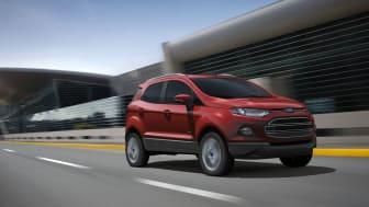 Ford viser EcoSport i Paris; ny SUV med småbilens praktiske egenskaper