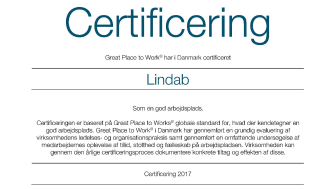 Certifikat Great Place to Work 2017