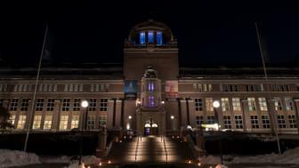Kväll på Naturhistoriska riksmuseet