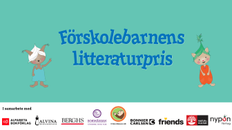 Förskolebarnens litteraturpris – vill uppmärksamma vikten av läsning