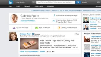 Besser Netzwerken: LinkedIn optimiert Benutzeroberfläche