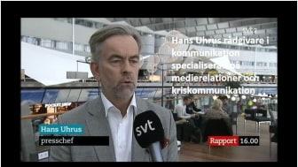 Hans Uhrus på UhrVIS är rådgivare i kommunikation – specialiserad på medierelationer och kriskommunikation.