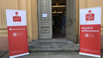 In der Kulturkirche Neuruppin wurde am 22. August das Sparkassen-Tourismusbarometer für Brandenburg vorgestellt (TMB-Fotoarchiv/Steffen Lehmann)
